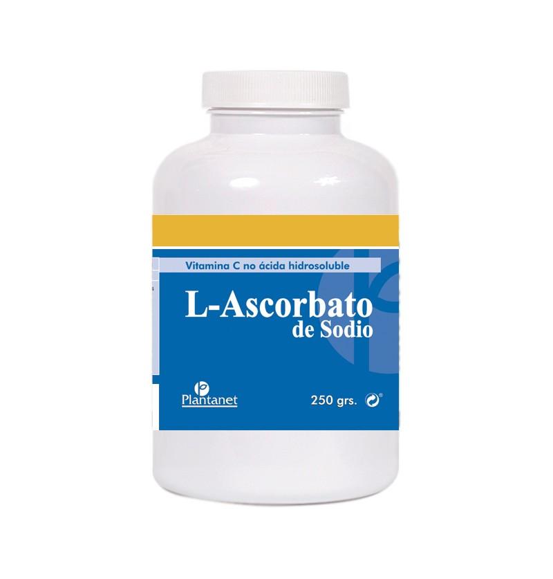 L-ASCORBATO DE SODIO - 250 gr.